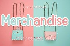 Merchandise - Cute & Smart Font Product Image 1