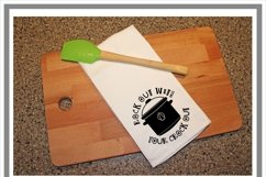 Rock Out With Your Crock Out Kitchen SVG Product Image 2