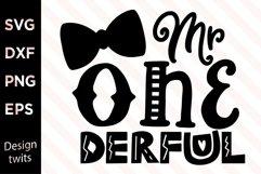 Mr OneDerful SVG Product Image 1