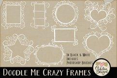 Doodle Me Crazy Frames & Photoshop Brushes Product Image 2