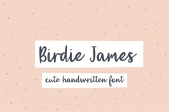 Birdie James Product Image 1
