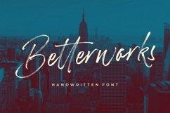 Betterworks Handwritten Font Product Image 1