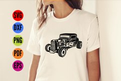 HotRod Classic Truck  SVG Cutting File  Product Image 3