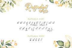 Raffadyn - Wedding Font Product Image 7