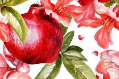 Beautiful watercolor pomegranates Product Image 3