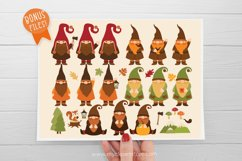 Scandinavian Fall Gnomes Clipart - Vector Clip Art & SVG Product Image 4