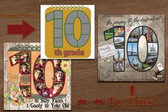 K Through 12 Number Templates for School and More Product Image 4
