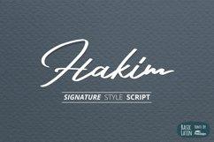 Hakim Signature Font Product Image 1