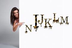 Valentines SVG, Dripping Glitte leopard Alphabet SVG Product Image 3