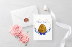 Happy Easter Sublimation,Easter Sublimation Design,Floral Product Image 2