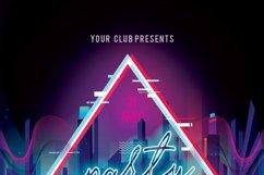 Disco Retro Party Flyer Product Image 5