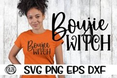 Boujee Witch - Halloween - Witch SVG PNG EPS DXF Product Image 3