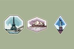 Landmark Badge illustrations Product Image 1