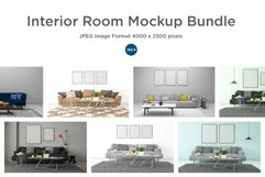 10 Images 3D Interior Room Mockup Bundle Vol 4 Product Image 1