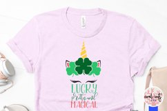 Lucky pretty and magical - St. Patrick's Day SVG EPS DXF PNG Product Image 3