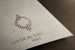Vertical Logotype Font Product Image 1
