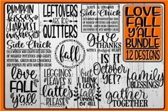 LOVE FALL Y'ALL Bundle - 12 Designs Included Product Image 1