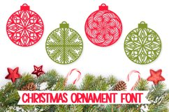 Christmas Ornament Dingbat Font Product Image 1
