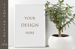 Frame mockup, mockup leaves, mockup plant Product Image 1