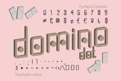 Domino-dot monospace san serif font duo Product Image 4