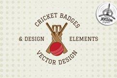 Cricket Logos Badges & Design Elements. SVG Cut Files Bundle Product Image 2