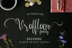Vroffloow family Typeface Product Image 1