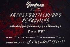 Goodness - Handwritten Brush Font Product Image 7
