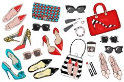 Vector fashion set. Product Image 2