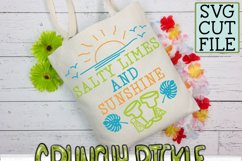 Salty Limes and Sunshine Summer Beach SVG Product Image 6