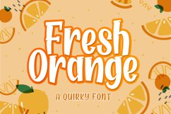 Fresh Orange Product Image 1