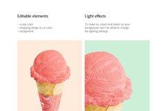 Ice Cream Cone Mockup Product Image 3