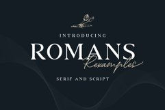 ROMANS Rexamples Font Duo Product Image 1