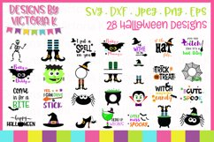Spooky Halloween Bundle SVG Cut Files Product Image 1
