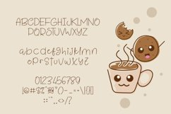 Coffee and Cookie Font Product Image 4