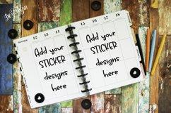 Digital Planner Background Mockup Image Product Image 1