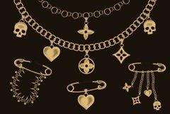 Chains & pendants Procreate brushes Product Image 4