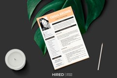 Modern CV with picture, Cover Letter and References Page Product Image 5