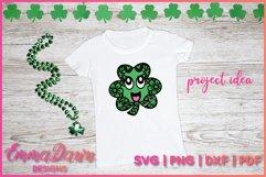 St PATRICK'S DAY CLOVER SVG BUNDLE 6 DESIGNS Product Image 5