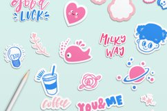 Good Luck - Retro Pop Stickers Product Image 2