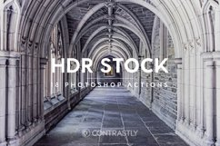 HDR Stock Photoshop Actions Product Image 1