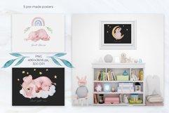 Watercolor Baby Elephant Set Product Image 2