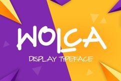 Wolca Display Font Trio Product Image 1