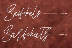 Sarfokats Monoline SIgnature Font Product Image 5