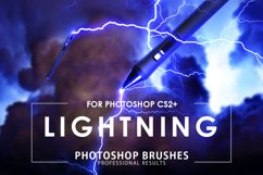Lightning Photoshop Brushes Product Image 1