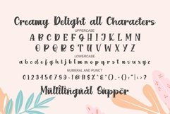CREAMY Delight - Cute Font Product Image 3