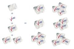 Vote Clipart, Voting Clipart, Voting Usa Clipart Product Image 2