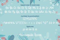 Hallo White - Christmas Font Product Image 6