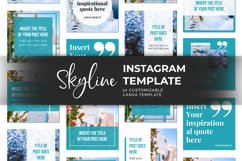 Skyline Instagram Canva Template Product Image 3