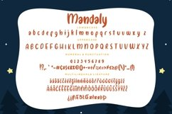 Mandaly Fun Children Typeface Product Image 3