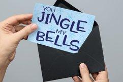 Quintsy: holiday greeting card mockup